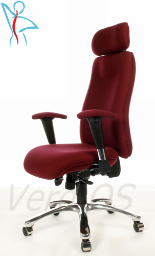 Recliners Orthopaedic Chairs Tall Office Chairs with extra long seats and full posture adjustments ...