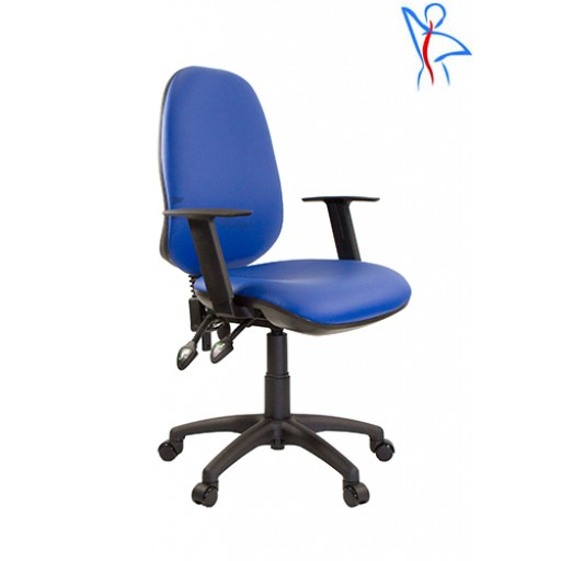Vinyl Office  Chair with ESA Height Adjustable Arms