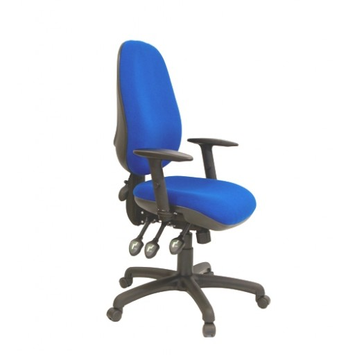 Xcel - Seat Depth Adjustment - Inflatable Lumbar Support - Height and Depth Adjustable Arms