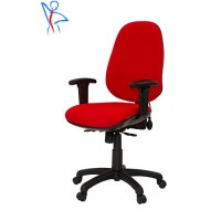 PS06 Petite - With Lumbar Support - Adjustable Arms - Seat Depth Adjustment