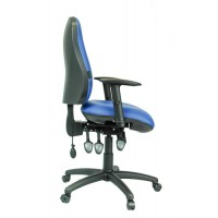 Contour V - Vinyl Office  Chair with the Ultimate Back Support