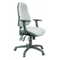 'JUNO' Pregnancy Office Chair with Pocket Sprung Seat + Inflatable Lumbar & Sacrum Panels + The Ultimate Backrest