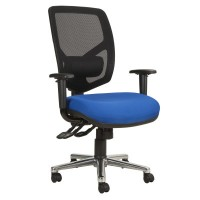 Mesh back Bariatric Office Chair With Height Adjustable Arms