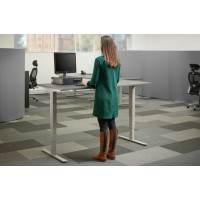 OPTIMO+ Twin Motor Sit Stand Desk